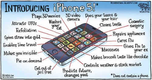 the features of iphone
