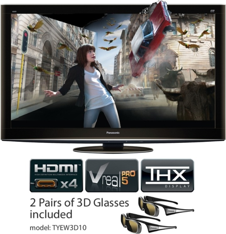 Enjoy the real experience of 3D in panasonic TX-01