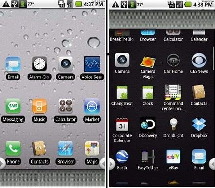 a comparison of two mobile operating systems in android and ios The competition between mobile platforms is as fierce as ever which mobile os is really the best this ios vs android vs windows details the pros and cons of each popular mobile os.