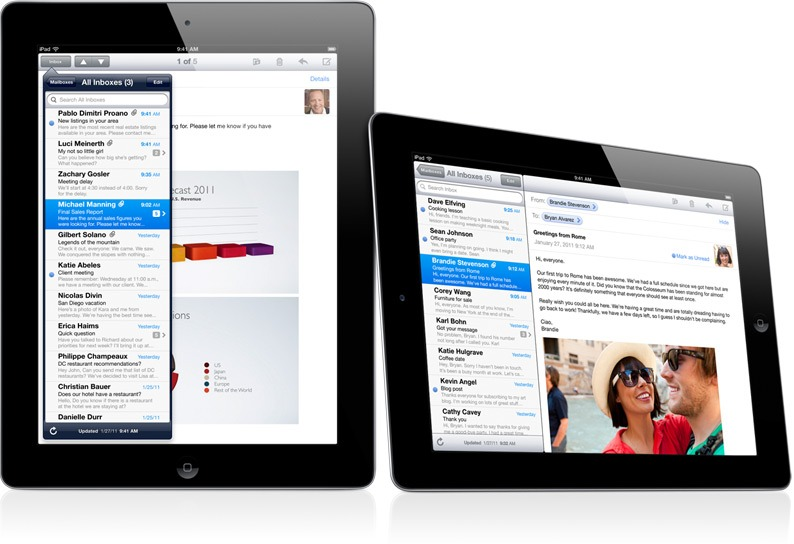 iPad 2 has rich applications than Samsung Galaxy Tab 10.1