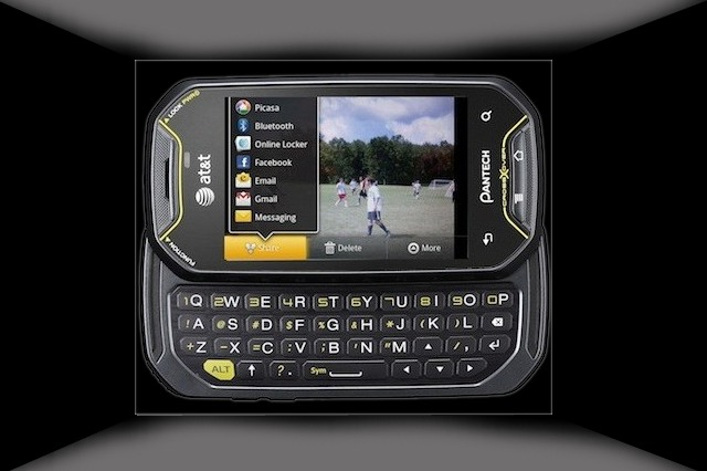 A best cell phone with QWERTY pad from Pantech