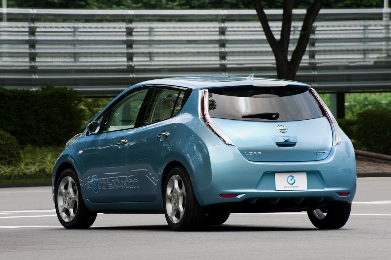 Nissan Leaf is an amazing electric car
