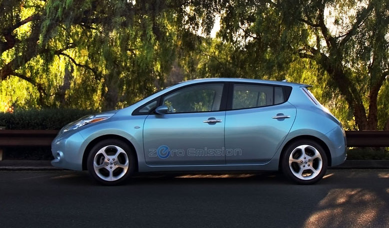 Nissan Leaf is the best car of 2011