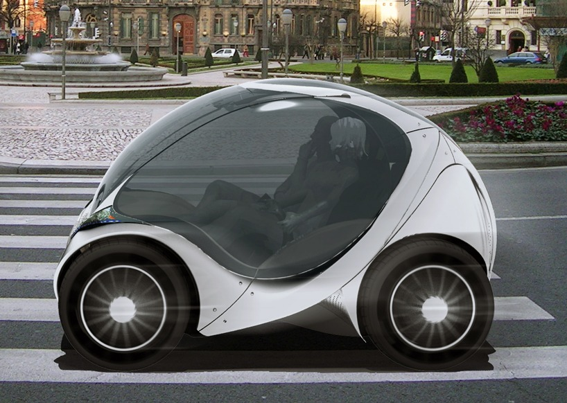 Hiriko – A Compact Electric Car that Folds Itself!