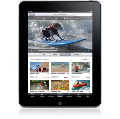new ipad has stunning display features