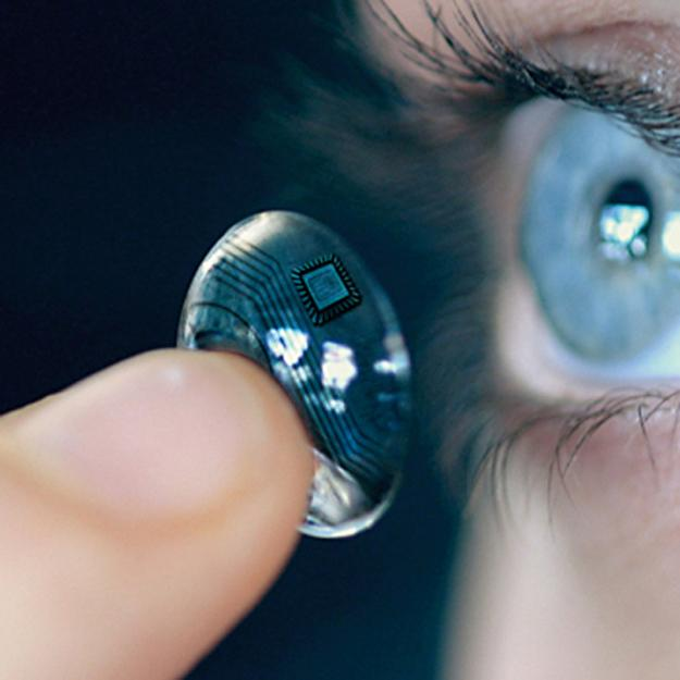 iOptik lens to give superhuman vision