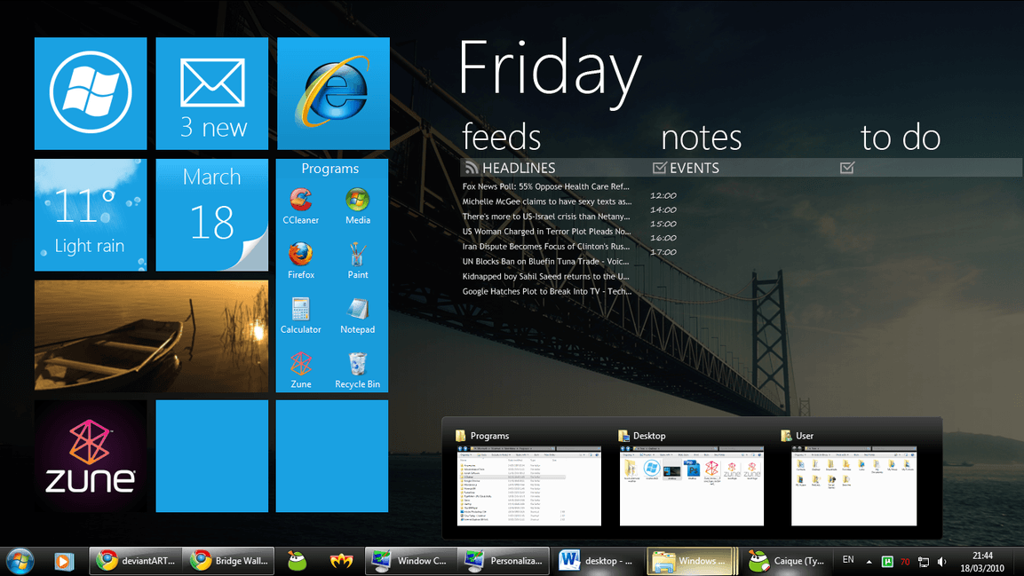 Metro UI of Windows 8 is amazing