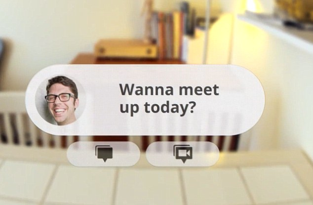 google project to produce awesome futuristic glasses with augmented reality