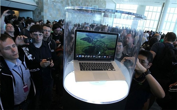 macbook pro has stunning graphics