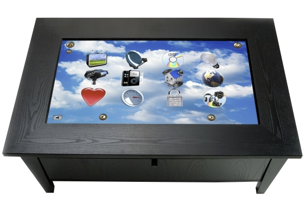 Digital coffee tables tech4globe - Table basse high tech ...