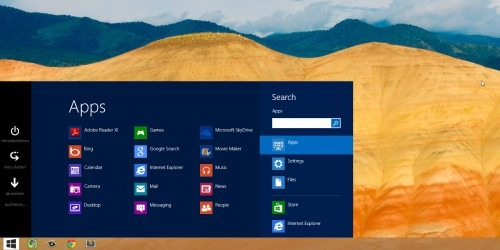 Windows 8 OS has a spectacular design