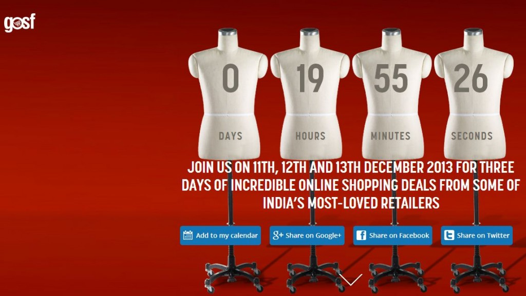 GOSF – Jackpot for Online Shopaholics this December! Act Fast