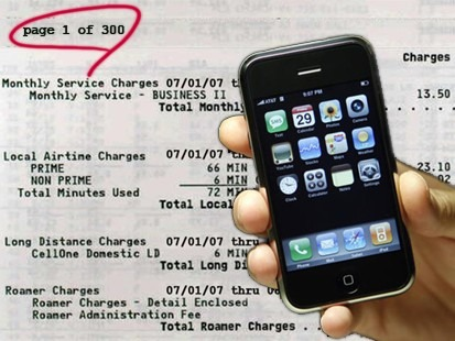iphone bill