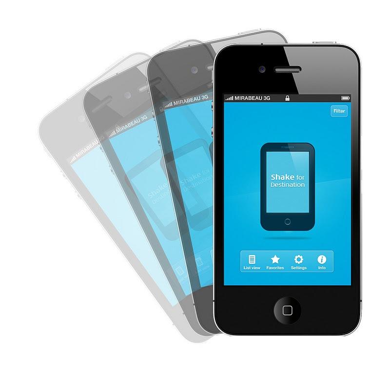 iPhone shake